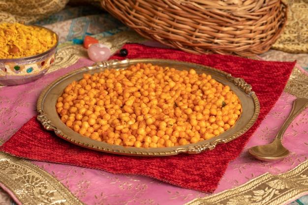 Bundi pakori indiano del cibo churchy
