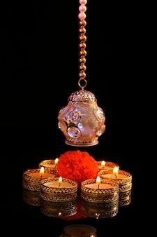 Festival indiano diwali, candela