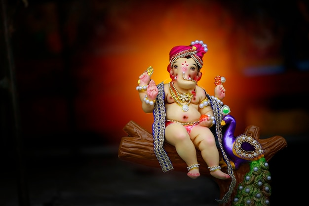 Festival indiano di ganesha, lord ganesha