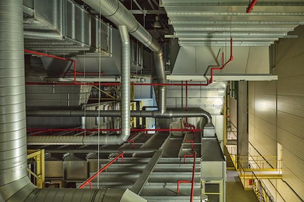 Sistema di raffreddamento ad aria industriale e tubi di ventilazione