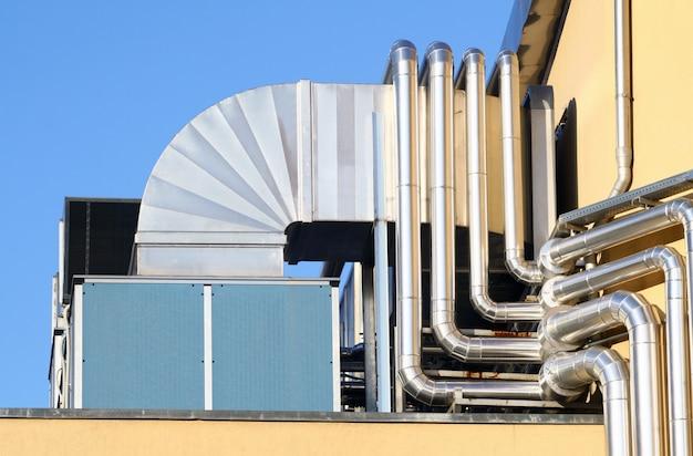 Il sistema industriale di aerazione.