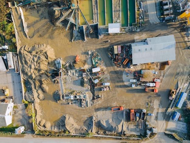 Attrezzature per la zona industriale per la produzione di impianti di betonaggio per macchinari pesanti