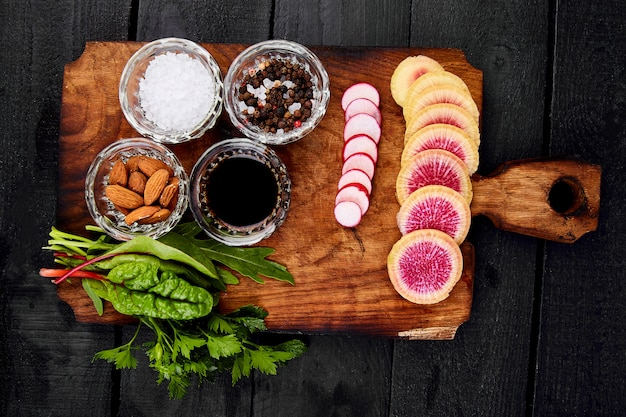 Ingrediente per insalata