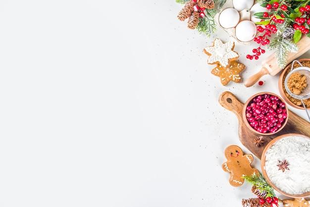 Ingredienti per cucinare nel periodo natalizio