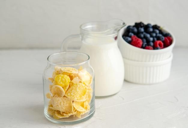 Ingredienti per uno spuntino o una colazione