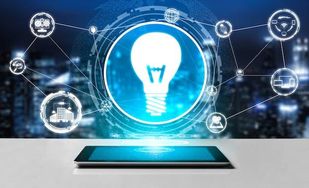 Tecnologia di innovazione per il concetto di finanza aziendale