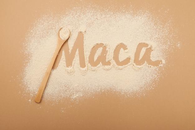 Iscrizione maca di maca farina gelatinizzata superfood peruviano integratore biologico naturale