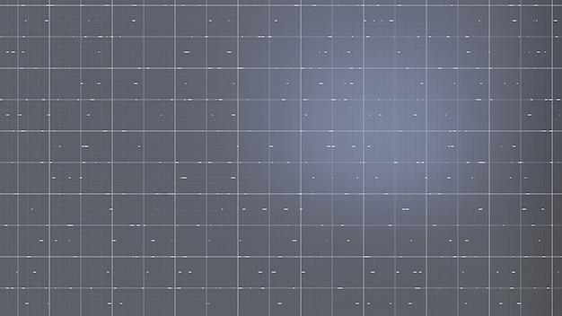 Interfaccia fantastica trama sfondo 3d rendering illustrazione