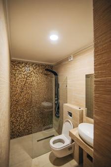 L'interno del bagno di design d'interni bagno in a