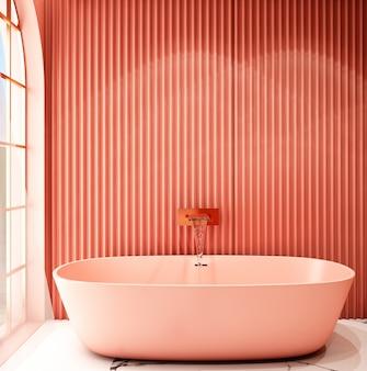 Interior design per la zona bagno in stile moderno
