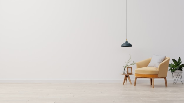 Rendering del salotto interno