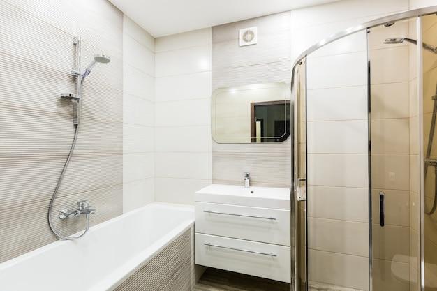 Foto interna di un bagno