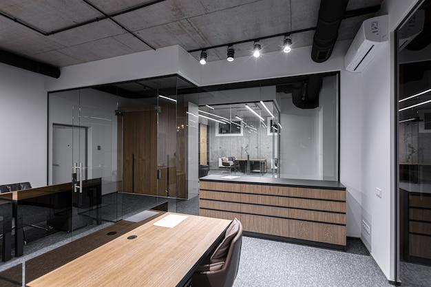 Fotografia di interni, moderno centro uffici, coworking