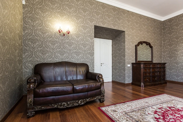 Sala fotografia di interni in stile classico