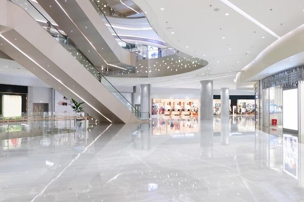 Spazio interno del grande magazzino