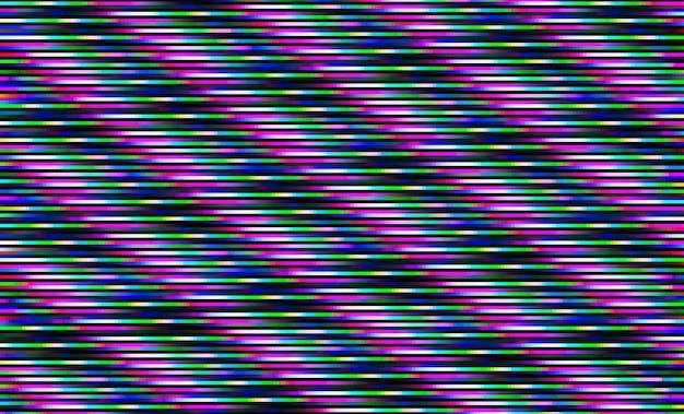Sfondo di astrazione glitch pixel interlacciati