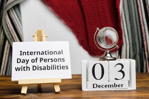 Giornata internazionale delle persone con disabilità a dicembre