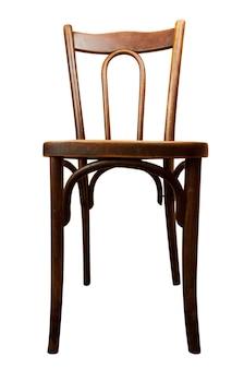 Vecchia sedia isolata