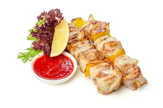 Carne arrosto isolata