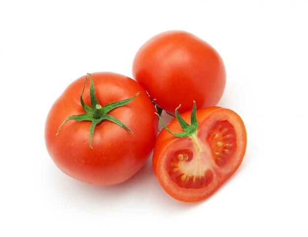 Pomodori isolati. elemento di design.