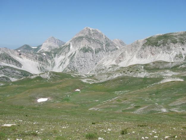 Italia, parco nazionale del gran sasso