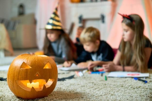 Jack-o-lantern come simbolo di halloween