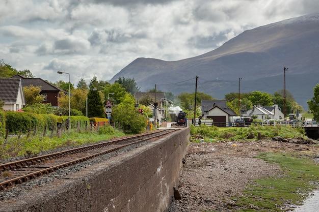 Il giacobita nella stazione di corpach in scozia il 19 maggio 2011 persone non identificate