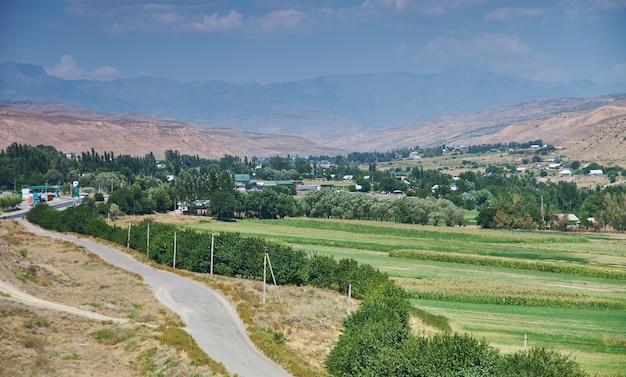 Regione di jalal-abad, kirghizistan.