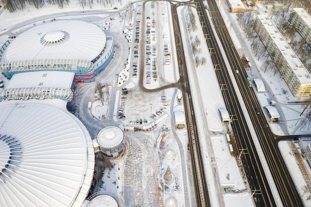 16 gennaio 2021 complesso moderno dell'istituzione culturale e sportiva statale