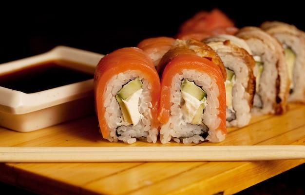 Alimento tradizionale giapponese - rotolo
