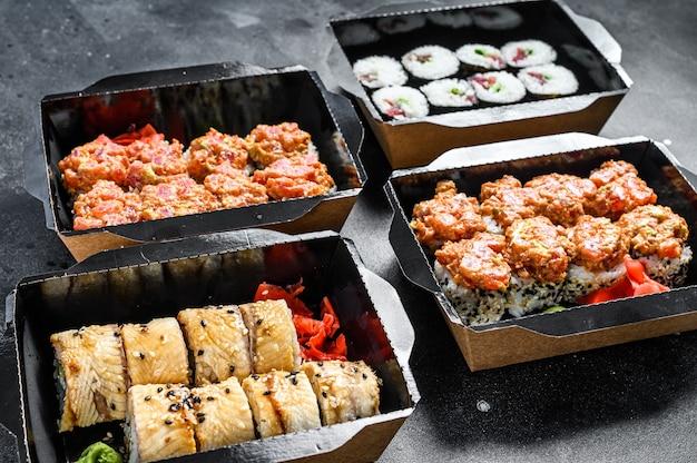 Concetto di cibo giapponese