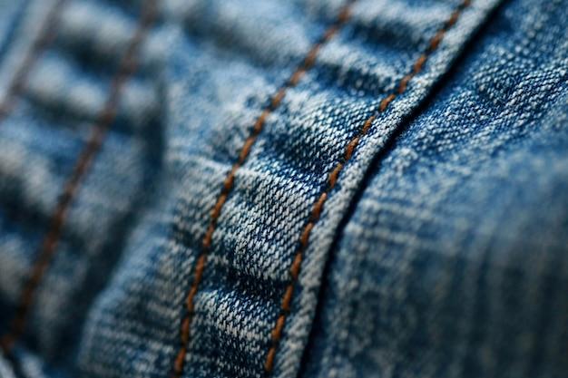 Fine di struttura del denim dei jeans su