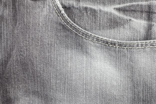 Fondo della tasca dei jeans.