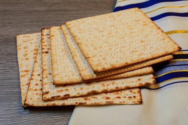 Festa ebrea pesah celebrazione concetto festa ebraica di pasqua pasqua matzah