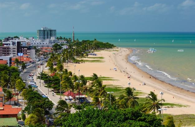 Joao pessoa, stato di paraiba, brasile il 12 marzo 2005. spiaggia di tambau.