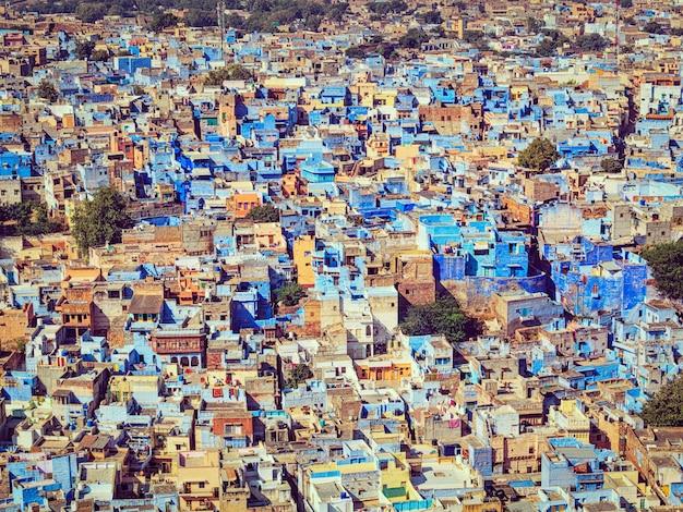 Jodhpur la città blu, rajasthan, india