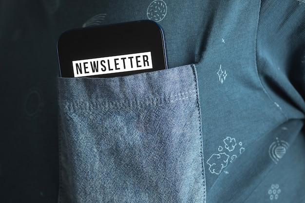 Iscriviti e registrati alla nostra newsletter per aggiornare le informazioni e iscriviti per le notizie, foto del concetto di nuovo membro