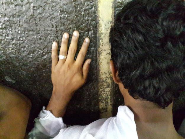 Viaggio all'hajj nella santa mecca foto di alta qualità foto di alta qualità
