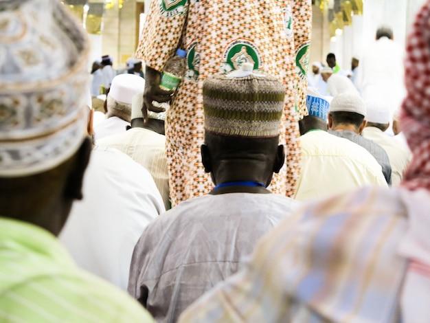 Viaggio all'hajj nella foto di alta qualità della mecca