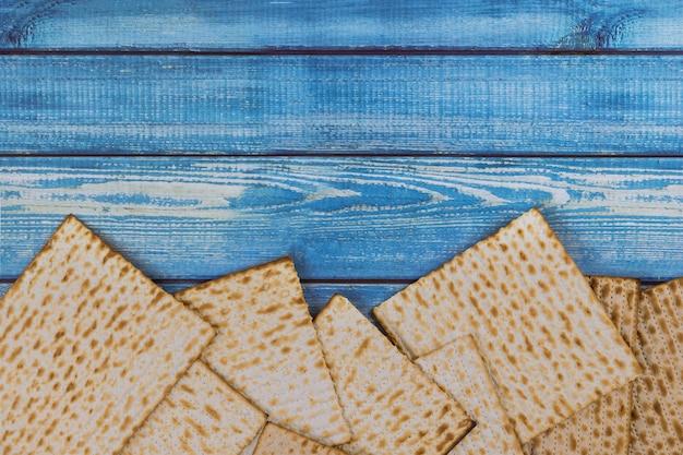 Il giudaismo ebraico religioso matza festività sulla pasqua