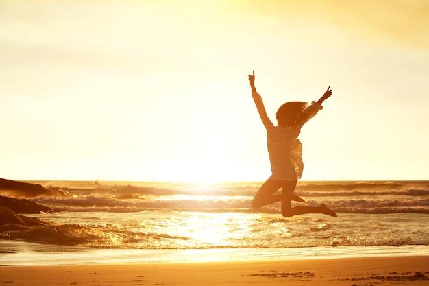 Saltando di gioia