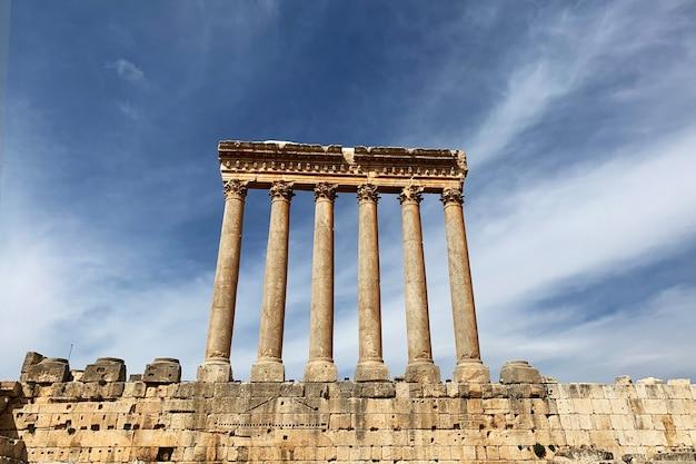 Tempio di giove di baalbek libano