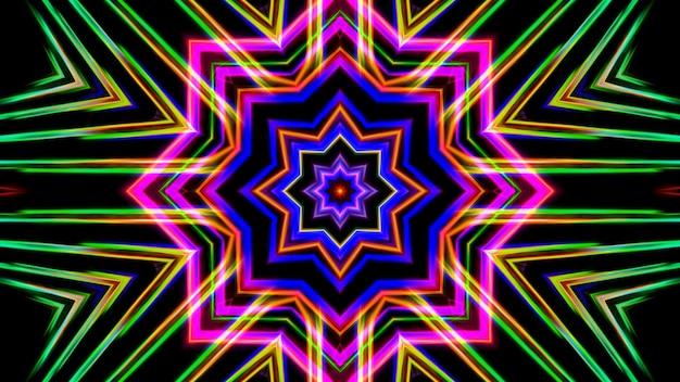 Mandala caleidoscopio design