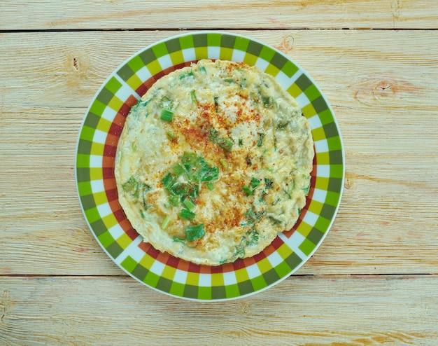 Kaygana - omelette turca con grasso di latte.