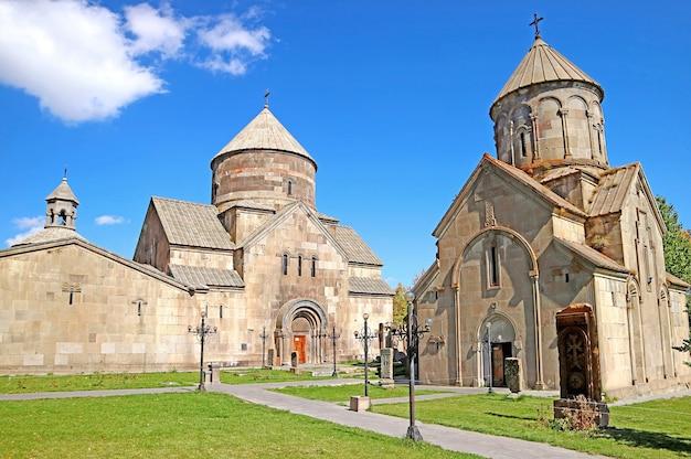 Monastero di kecharis una chiesa medievale fondata nell'xi secolo città di tsakhkadzor armenia