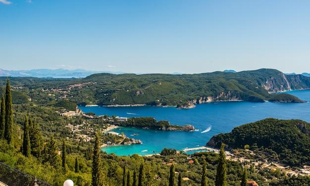 Kerkyra corfù città isola nel mar ionio grecia