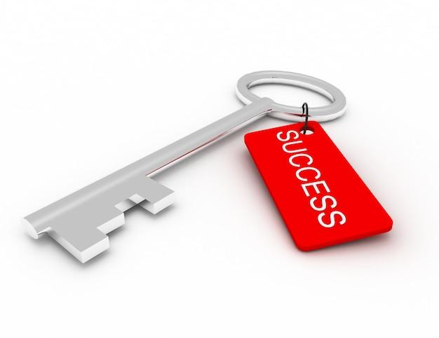 Una chiave con successo di parole