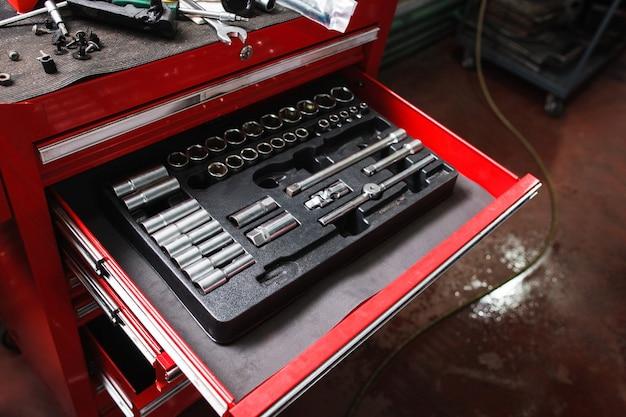 Kit di strumenti di riparazione in officina