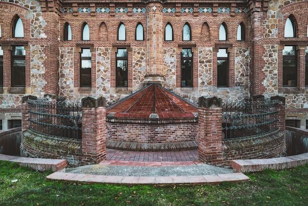 Padiglione cucina del vecchio complesso dell'ospedale la maternitat costruito in stile modernista