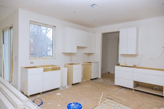 Cucina rimodellare bellissimi mobili da cucina della base di installazione